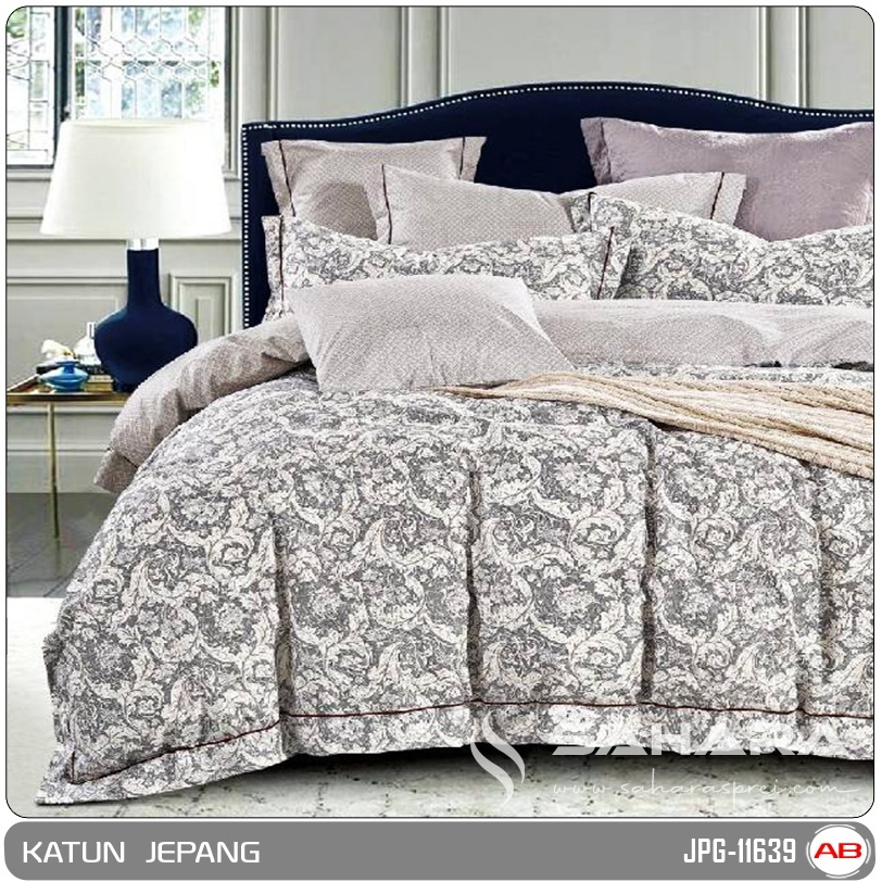 sprei katun jepang motif shoun the sheep